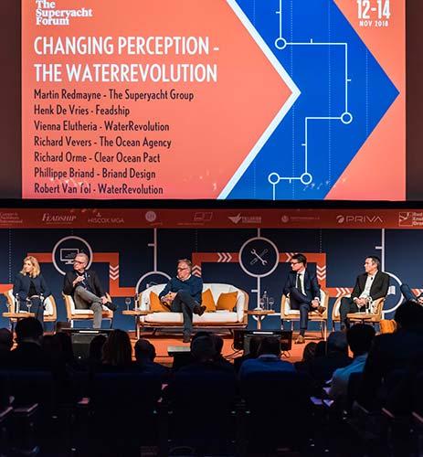 Water Revolution Foundation, The Superyacht Forum