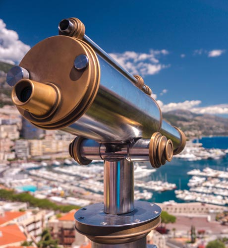 Future legislation, telescope, Monaco
